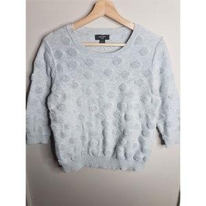 Lord & Taylor Polka Dot Sweater